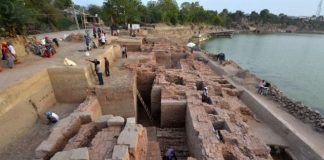 asi-unearthed-fifth-centurys-structure-in-vadnagar