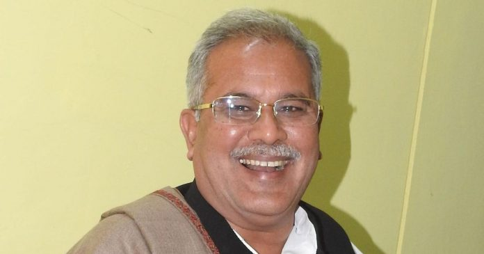 bhupesh baghel election shapath first time