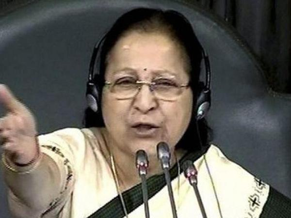 sabha speaker sumitra mahajan fumes over mruckus in lok sabha says school kids mare better