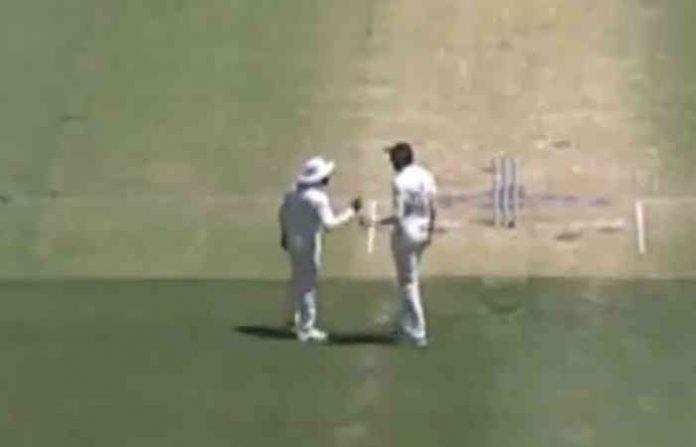 watch ishant sharma ravindra jadeja in war of words during 2nd test
