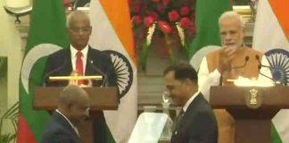 india maldeves signs 4 mous pm narednra modi maldeves president ibrahim mohamed solih