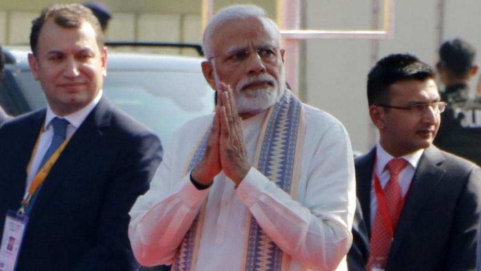 PM Modi said his government was taking effective steps to rid the country of corruption and nepotism.