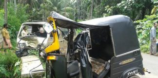 One dead, one injured in a auto rickshaw accident near bhabhar highway