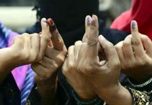 voter verdict imprisoned in evm peaceful voting on 26 seats