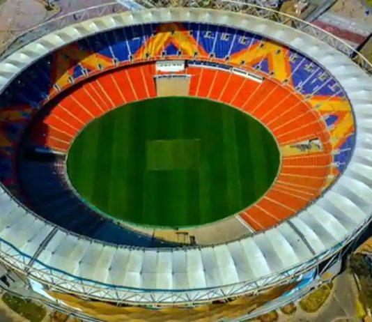 Ahmedabad's Motera stadium that will host 'Namaste Trump' event